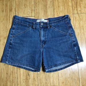 High waist jean shorts levi's 515